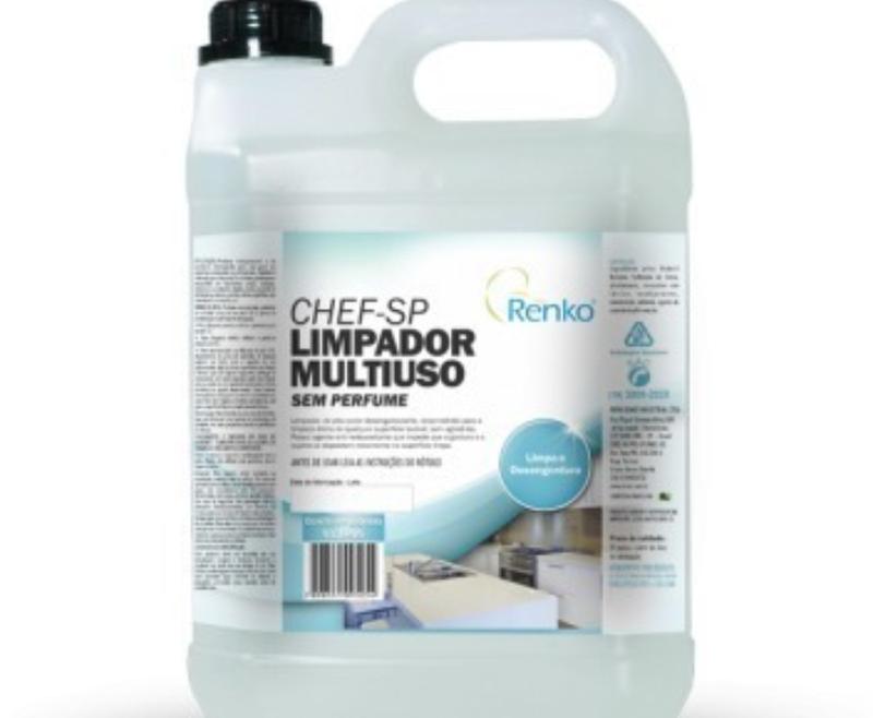 RK CHEF SP – LIMPADOR MULTIUSO SEM PERFUME 5L CHSP