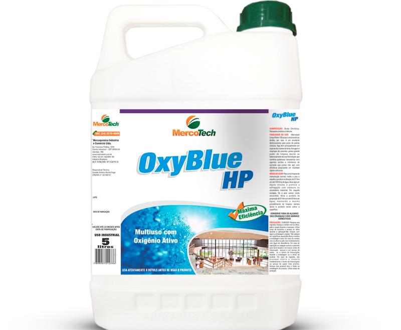 MERCOTECH OXY BLUE HP 5L – LIMPADOR PEROXIDO HIDROGÊNIO