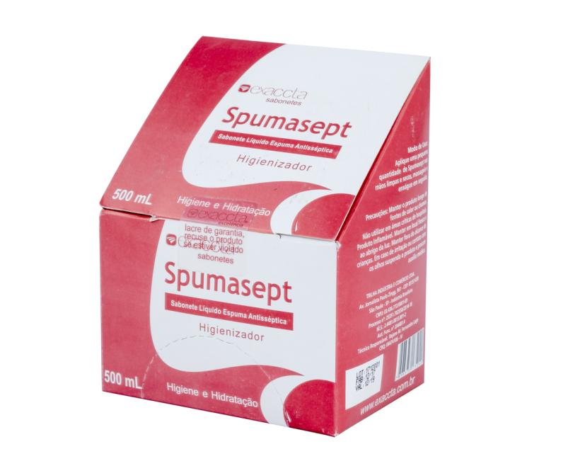 SABONETE REFIL ESPUMA SEPT EXACTA 500ML E-500SS